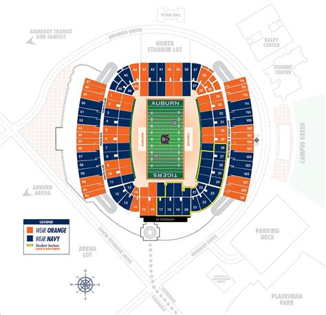 auburn football colors auburntigers auburn football set to stripe the stadium
