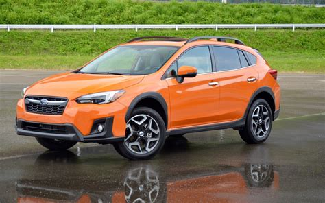 orange subaru crosstrek 2018 subaru crosstrek the impreza recipe applied to the