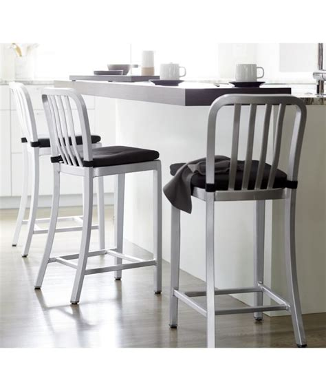 Aluminum Bar Stools Crate And Barrel by 1000 Ideas About Aluminum Bar Stools On
