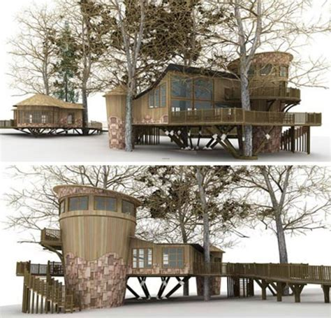 modern eco friendly tree house designs tree house design