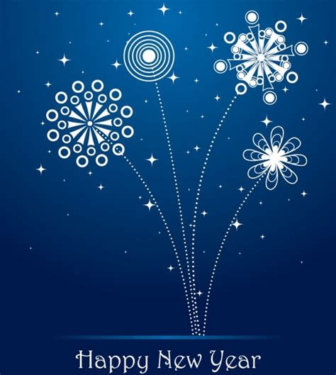 new year greeting card free happy new year greeting cards free vector 17 786