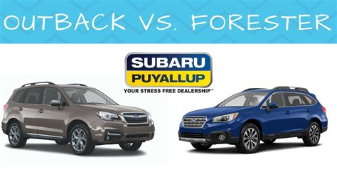 Compare Subaru Forester And Outback by 2018 Subaru Outback Vs Forester Motavera