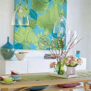 blue and green home decor add splash of color with blue and green decor