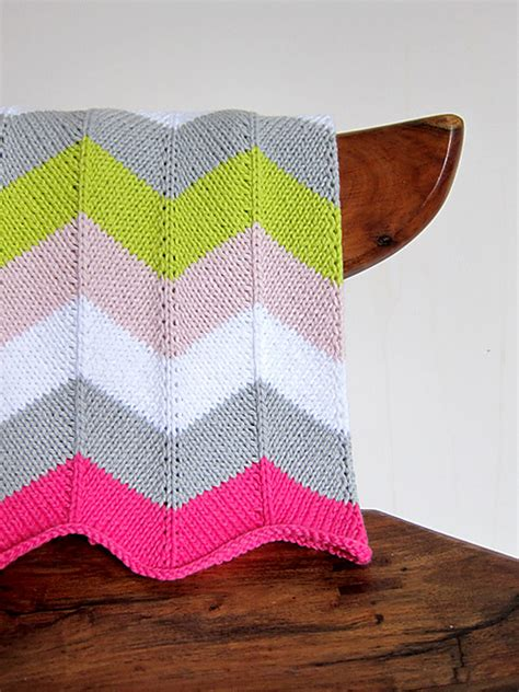 Chevron Baby Blanket Knit Pattern by Knitted Stroller Blankets To Keep Baby Warm This Winter