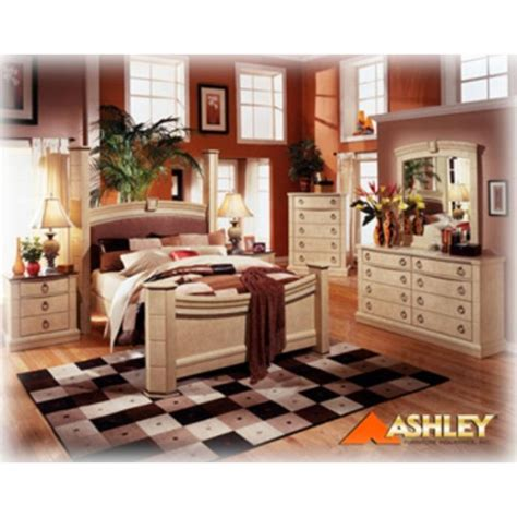 castle bedroom set b310 93 ashley furniture ashton castle 3 drawer nightstand