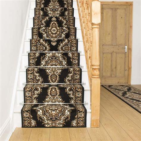 stair rug runners cheap turkesh black stair carpet runner narrow staircase traditional quality cheap ebay