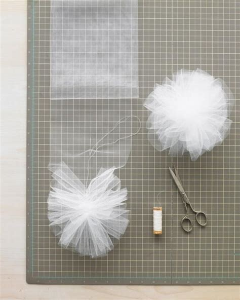 How To Make Tulle Pom Pom Decorations by Wedding How To Make Tulle Or Net Pom Poms