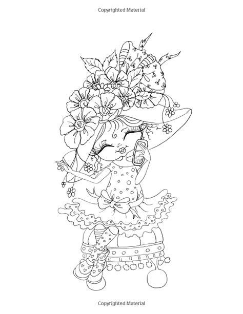sherri baldy my besties bloomin sherri baldy my besties steunk coloring book sketch coloring page