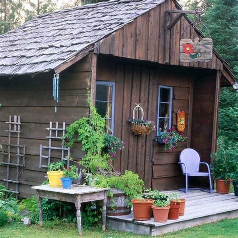 picture  garden shed   country appeal