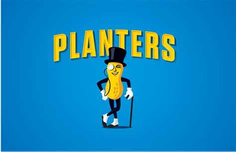Planters Peanuts Mascot by Planters Brand Icon Mr Peanut Shell Ebrates His 100th