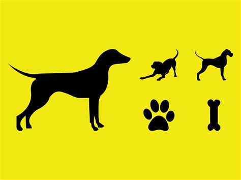 puppy vector dogs vector silhouettes vector graphics freevector