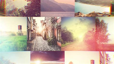 Mosaic Intricate Logo Reveal After Effects Template Free Photo Mosaic After Effects Templates