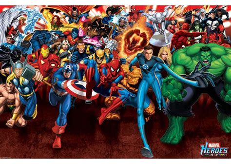 Home Decor Retailers by Marvel Heroes Poster Geek Decor