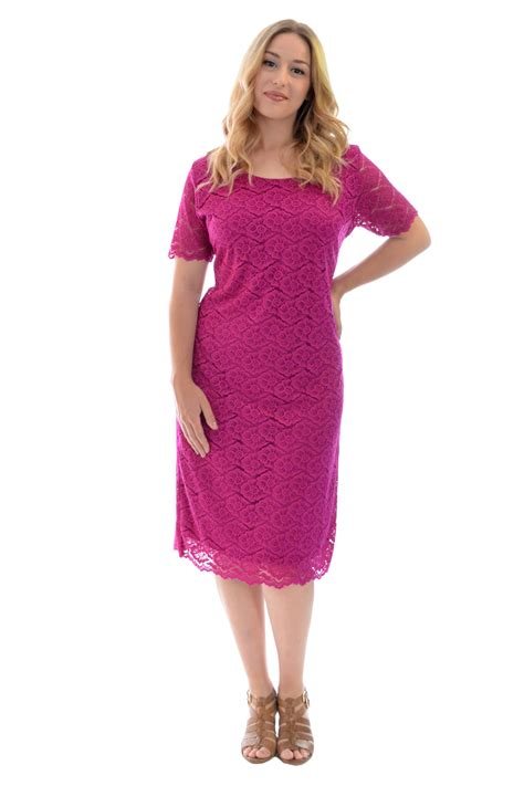 Lona Midi Dress Noize Tunic new womens plus size dress midi tunic floral lace sleeves nouvelle ebay