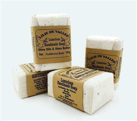 Handmade Olive Soap - olive shea butter handmade soap lilie de vallee