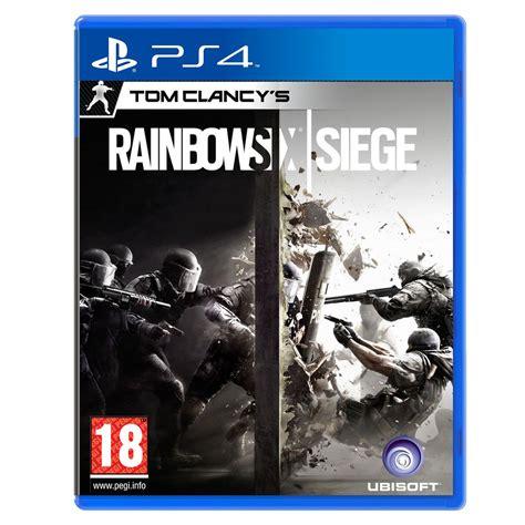 siege jeux rainbow six siege ps4 3307215889107 achat vente