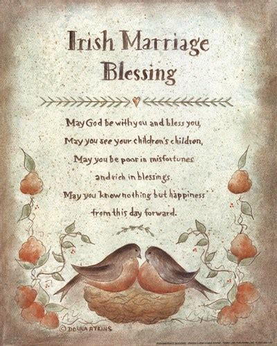 Wedding Blessing Poems Prayers by Wedding Day Blessing Quotes Quotesgram