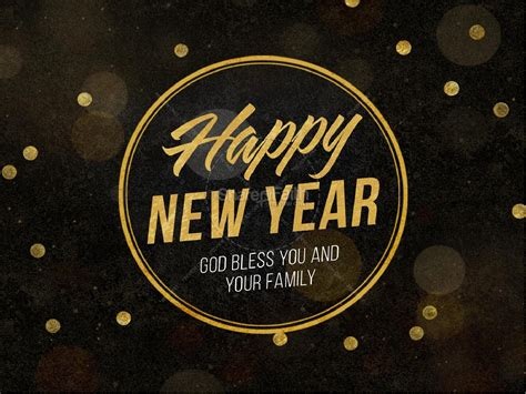 how is new year happy new year blessings church powerpoint church new