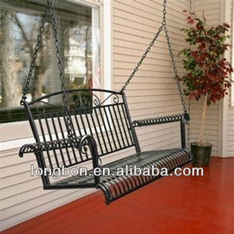 wrought iron garden swing top selling modern garden wrought iron swing buy
