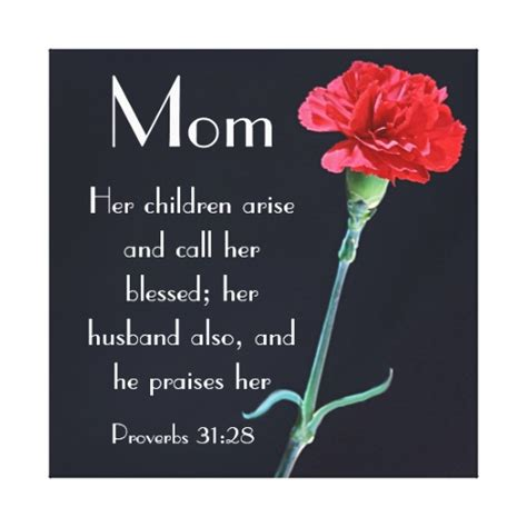 bible verse for mothers day carnation s day bible verse proverbs 31