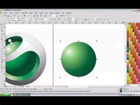 tutorial corel draw x4 tutorial corel draw x4 creat logo youtube