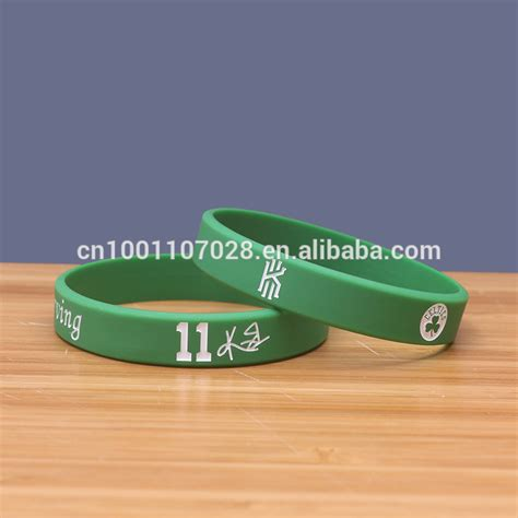 Kyrie Irving Bracelet Baller Cool Rubber Band Basketball Stars Sports Silicone Wristband   Buy