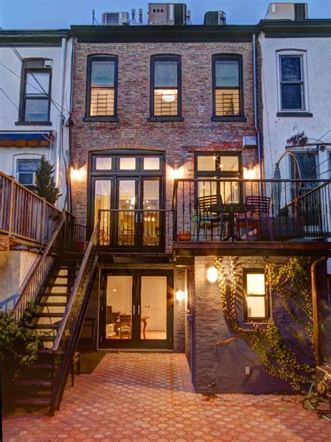 Brooklyn Brownstone Traditional Outdoors From Ben Herzog | classic gets an update in this brooklyn brownstone ben
