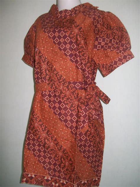 Blouse Batik Dengan Tali Pinggang Bb04 blus cewek lengan pendek tali pinggang cd014 toko batik 2018