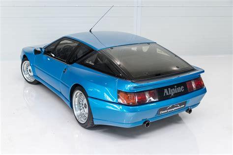 renault alpine classic 1990 renault alpine gta v6 turbo quot lemans quot 26 832 km