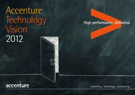 Mba Marketing In Accenture by Accenture Technology Vision 2012