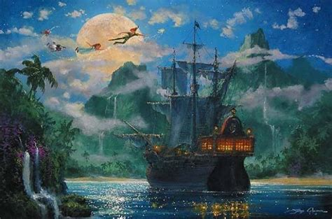 Mickey Mouse Wall Murals peter pan disney movie