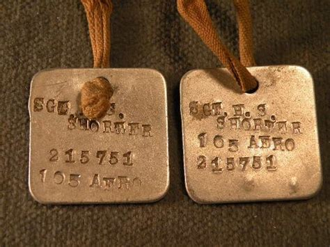 ww1 tags ww1 tag finds tags tags and dogs