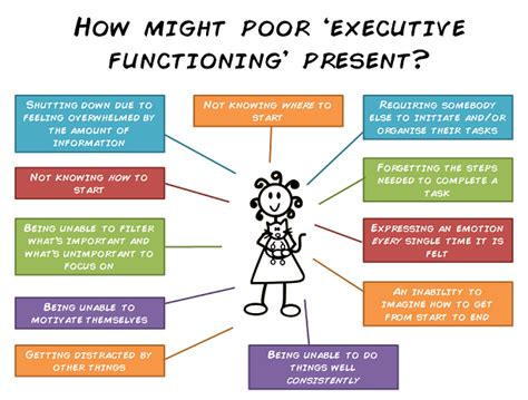 Chp Log what does poor executive functioning look like the