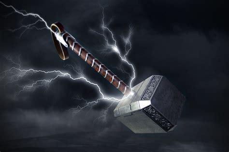 Thor S Hammer Wallpaper thors hammer wallpaper 77 images