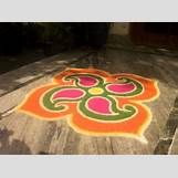 Rangoli Designs With Flowers And Colours   620 x 463 jpeg 43kB