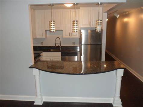 Breakfast Bar Supports Granite Tops by Milwaukee Kitchen Remodel Kitchen Remodeling Ideas And
