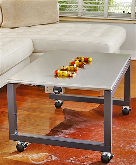 Teppan Table by Mobile Height Adjustable Teppanyaki Grill Tables
