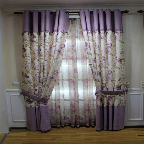 Funky Curtains Floral Funky Bedroom Curtains Are Made Of Linen And Cotton