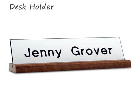 name holder for desk accessories for name plates desk door nameplates