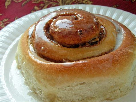 Handmade Cinnamon Rolls - classic cinnamon rolls butter with a side of bread