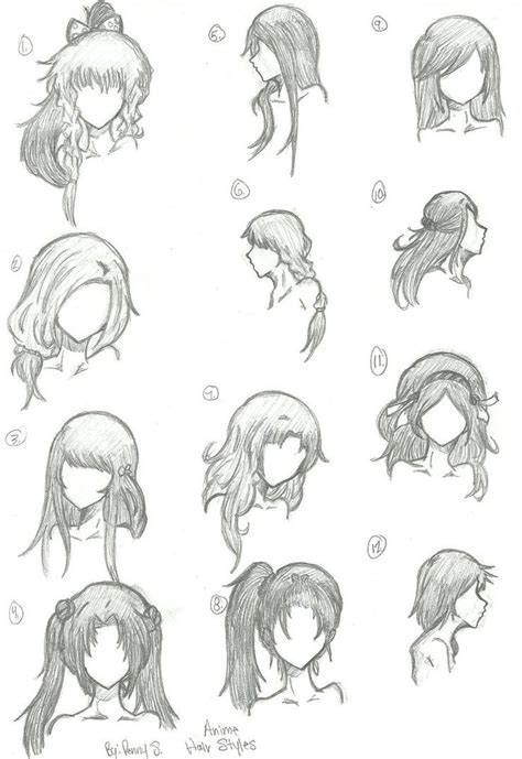 best 25 drawing hair ideas on pinterest hair sketch anime girl hair drawing best 25 anime hair ideas on
