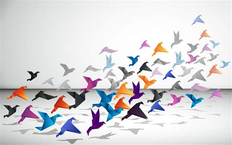 Origami Artwork - origami wallpaper high definition high quality