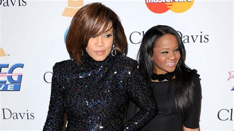 whitney houston and her daughter bobbi kristina whitney houston s daughter rushed to