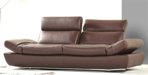 contemporary brown leather sofa k8374 modern brown leather sofa set
