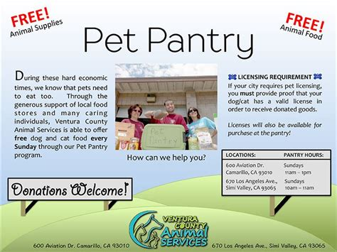 Pet Pantry Hours by Pet Pantry Moorpark Ca Official Website