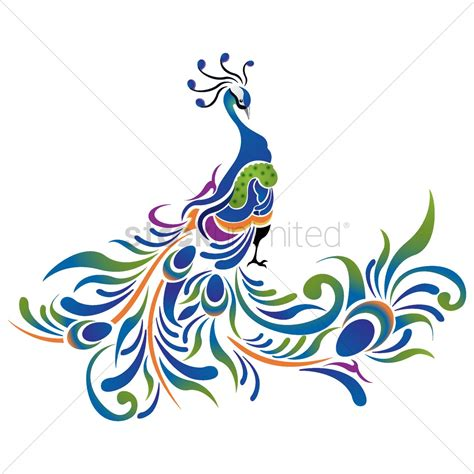 peacock pattern vector peacock pattern icon vector image 1507506 stockunlimited