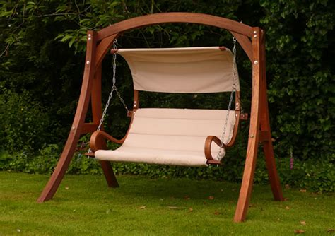 swing seats garden kingdom arc garden swing seat