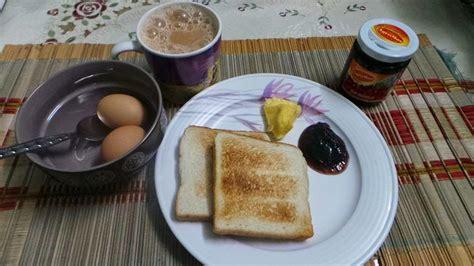 resepi cikgu ani roti bakar telur separuh masak