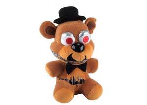 Five nights at freddy s plush nightmare freddy 6 quot