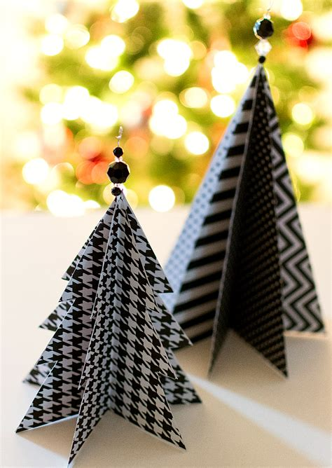 paper christmas treecraft 50 diy mini trees prudent pincher